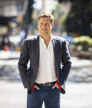 Jason Byrne, CEO and co-founder of Freighty