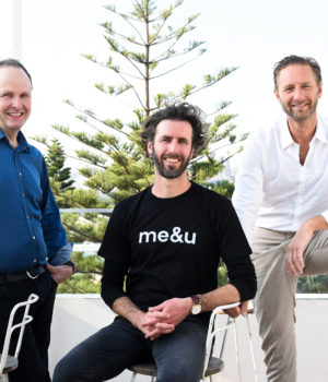 Robbie Cooke CEO of tyro payments, Stevan Premutico founder of me&u and Justin Hemmes CEO of Merivale