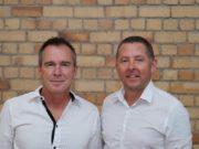Spoke Phone co-founders Jason Kerr and Kieron Lawson