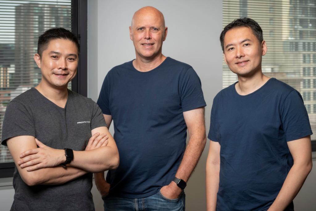 Prospection Eric Chung, Bill Bartee, Chris Liu
