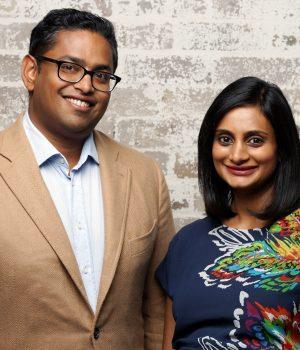 Founders of Different, Ruwin Perera and Mina Radhakrishnan.