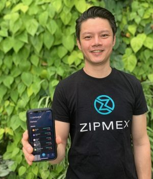 Zipmex Co-Founder and CEO Marcus Lim