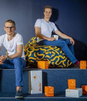 Sundose cofounders Michał Gołkiewicz and Tomasz Styk