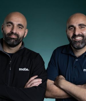 CEO and General Manager MATE David and Mark Fazio