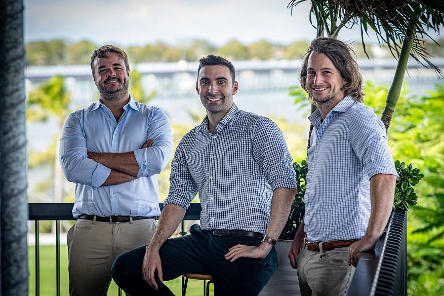 GreaseBoss co-founders L-R: Steve Barnett, Peter Condoleon, Tim Hall