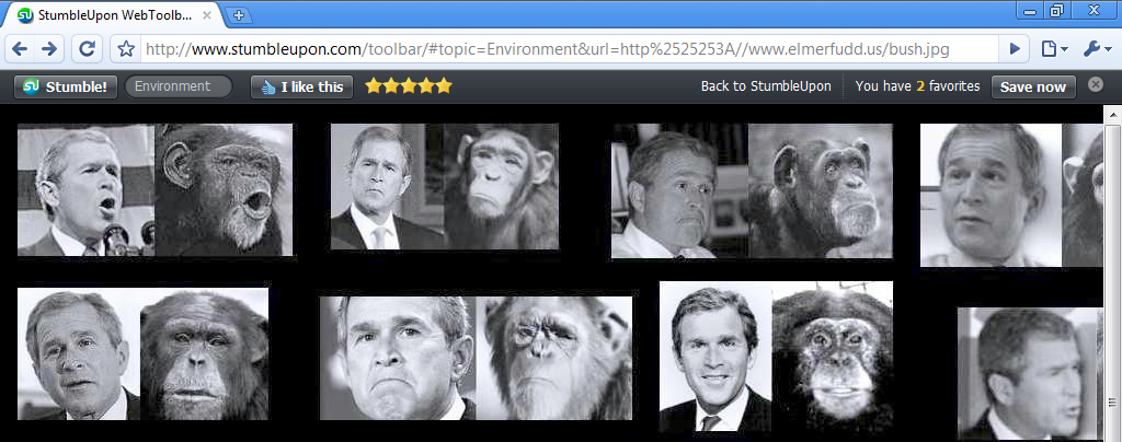 StumbleUpon web toolbar