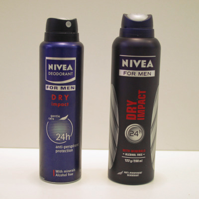 nivea, deodorant