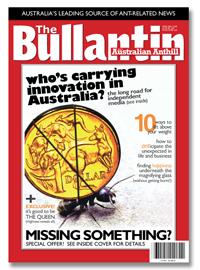 The Bullantin, australian anthill, the bulletin