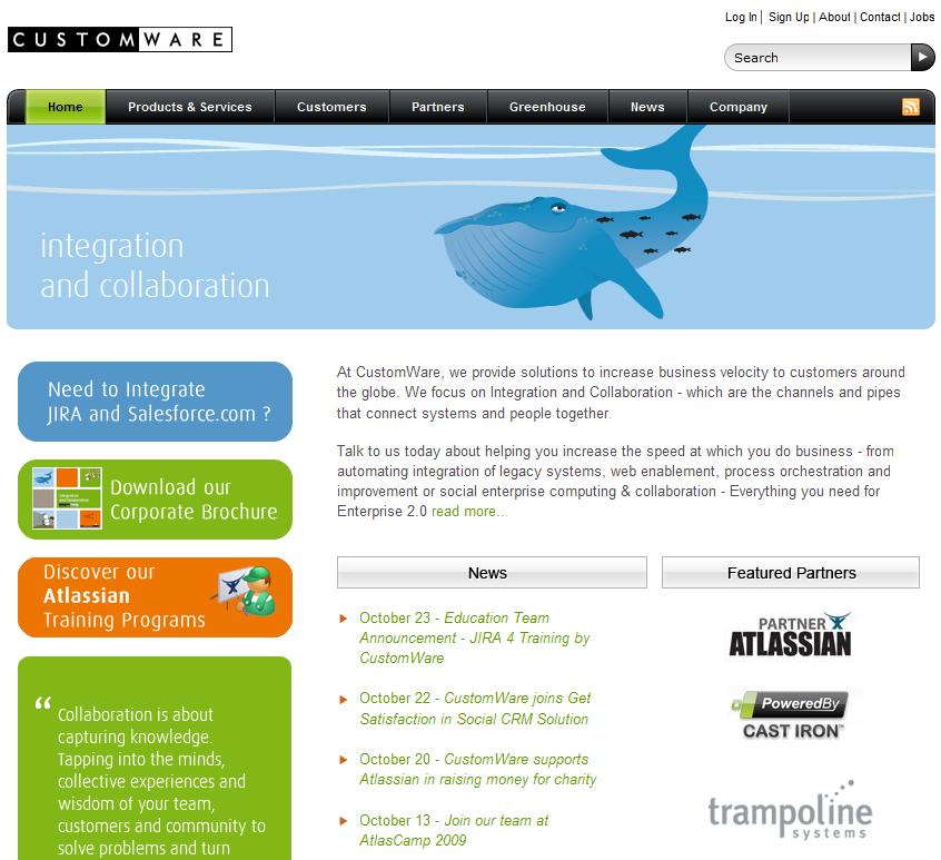 customware-homepage
