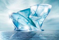 The Blue Crystal Floating Iceburg Lodge
