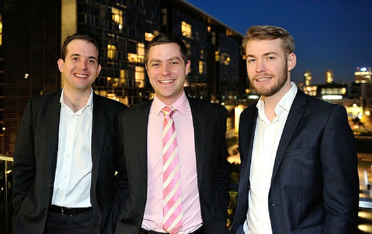 Vendorable co-founders Harry Lehmann, Jason Weeks and Thomas Taylor
