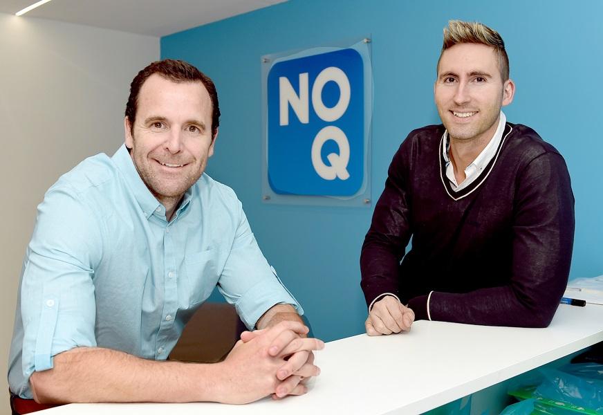 NoQ General Manager Nick Paech and Brad Moran