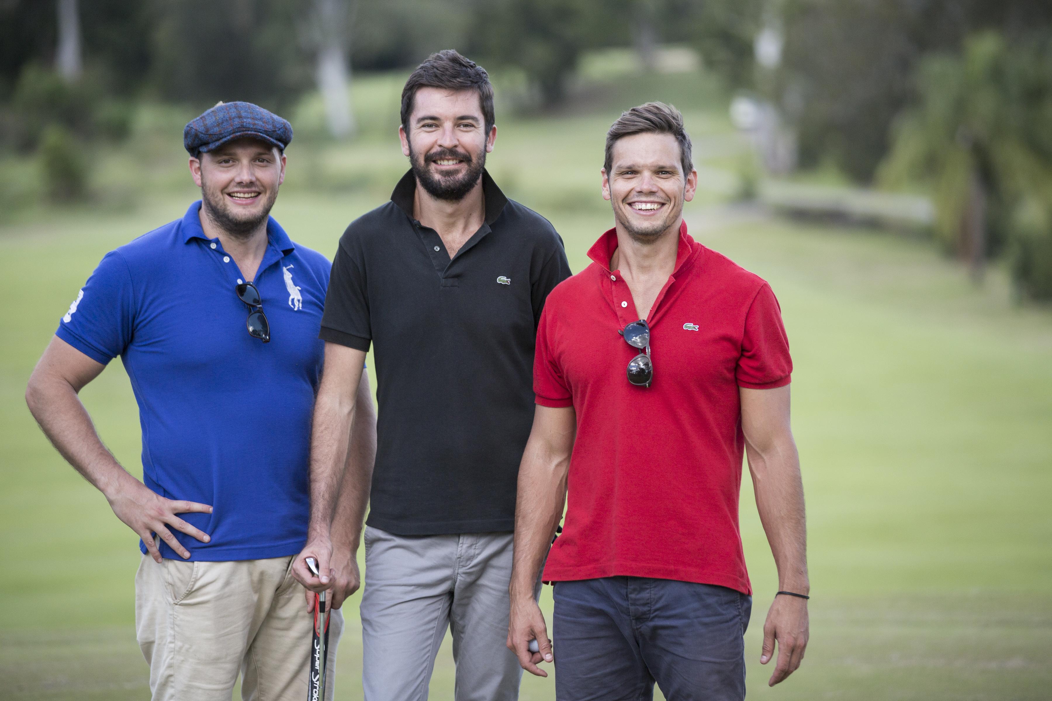 Puntaa founders Jordan Oudejans, Nick Heaney and Damon Oudejans