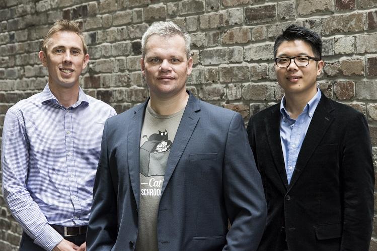 The JAGONAL team: Andrew Brown, COO; Serge Kotlyarov, CEO; Max Sim, CMO