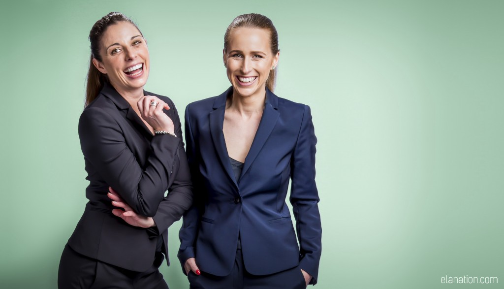 Aimee & Katherine, co-founders of Elanation