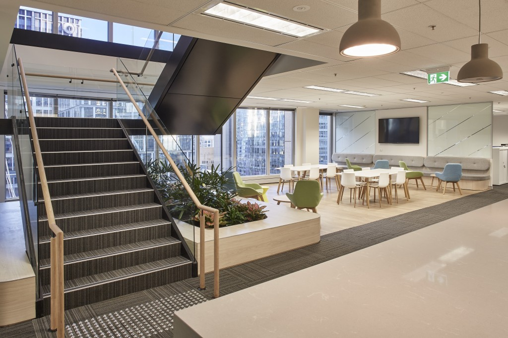 RSM Australia office by Futurespace