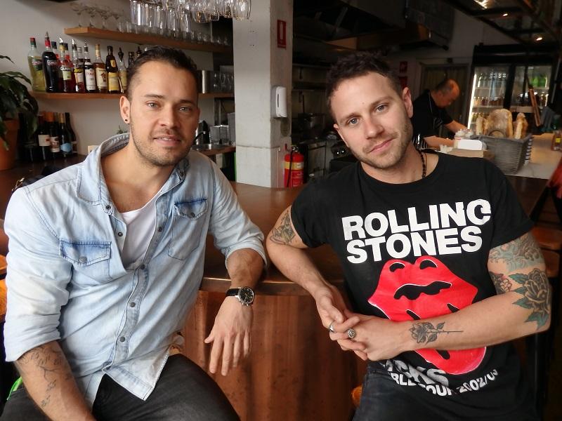 Sylvan Spatarel and Ben Thompson