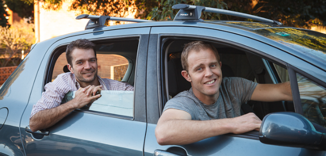 Car Next Door co-founders Dave Trumbull and Will Davies