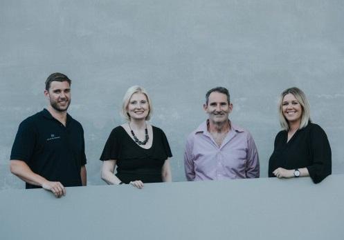 Tim (Travelshoot), Anna Rooke (CEA), Steve Baxter (Shark Tank) and Sarah (Travelshoot)
