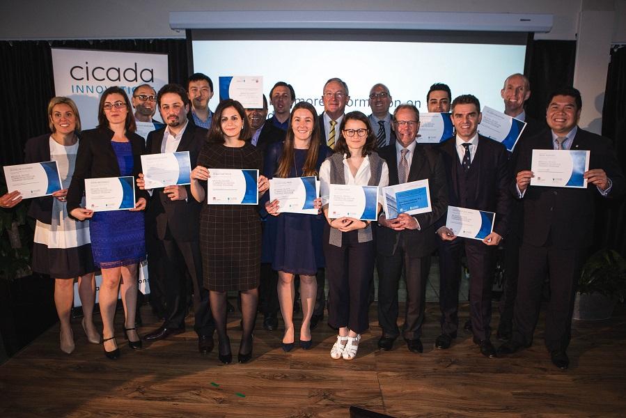 Cicada Innovations 2017 graduates