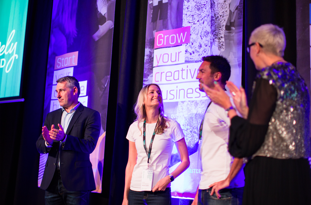 Creatively Squared wins Creative3Pitch 2017