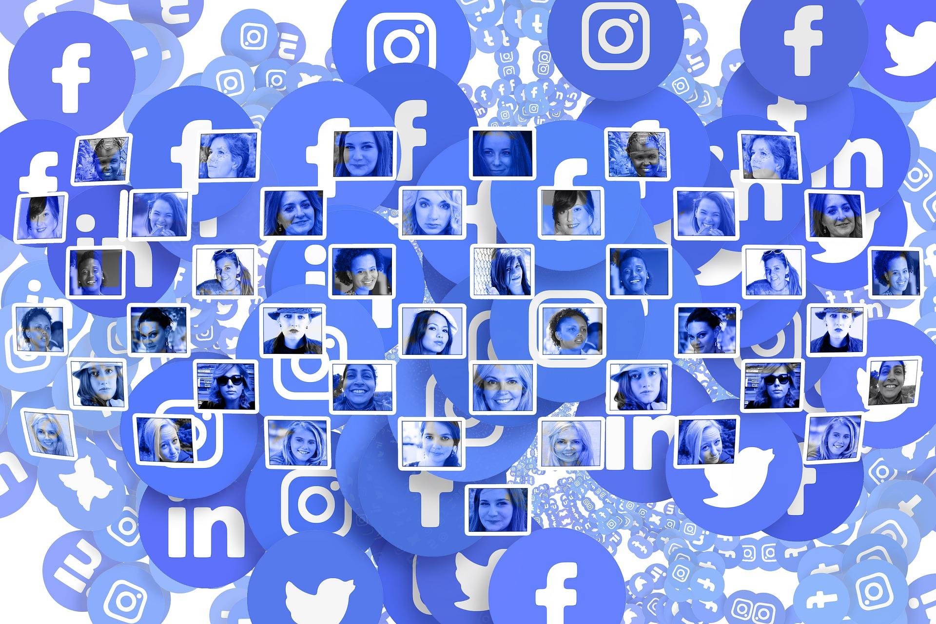 Смотреть все социальные сети картинками