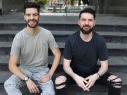 Tropeaka co-founders Caleb Marshall and Blake Mackenzie