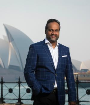HashChing CEO Arun Maharaj