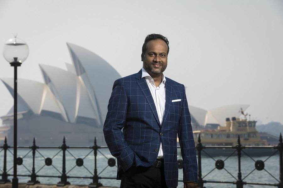 Arun Maharaj, CEO of HashChing