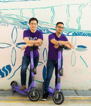 Beam co-founders, Alan Jiang and Deb Gangopadhyay