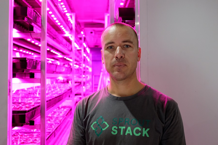Sprout Stack co-founder Michael Harder