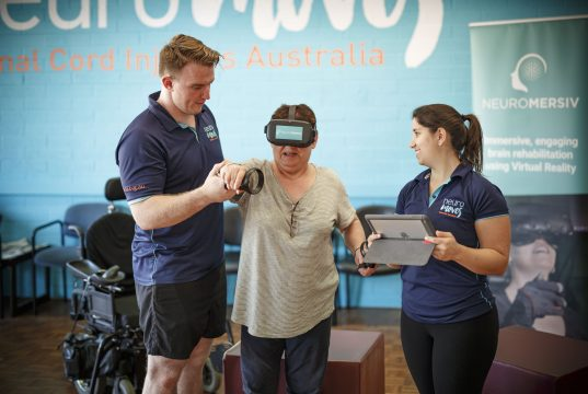 Neuromersiv just received a million dollars in grant funding for VR neurorehabilitation