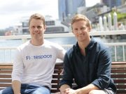Hugh Tresedar and Mike McKiernan of Flotespace